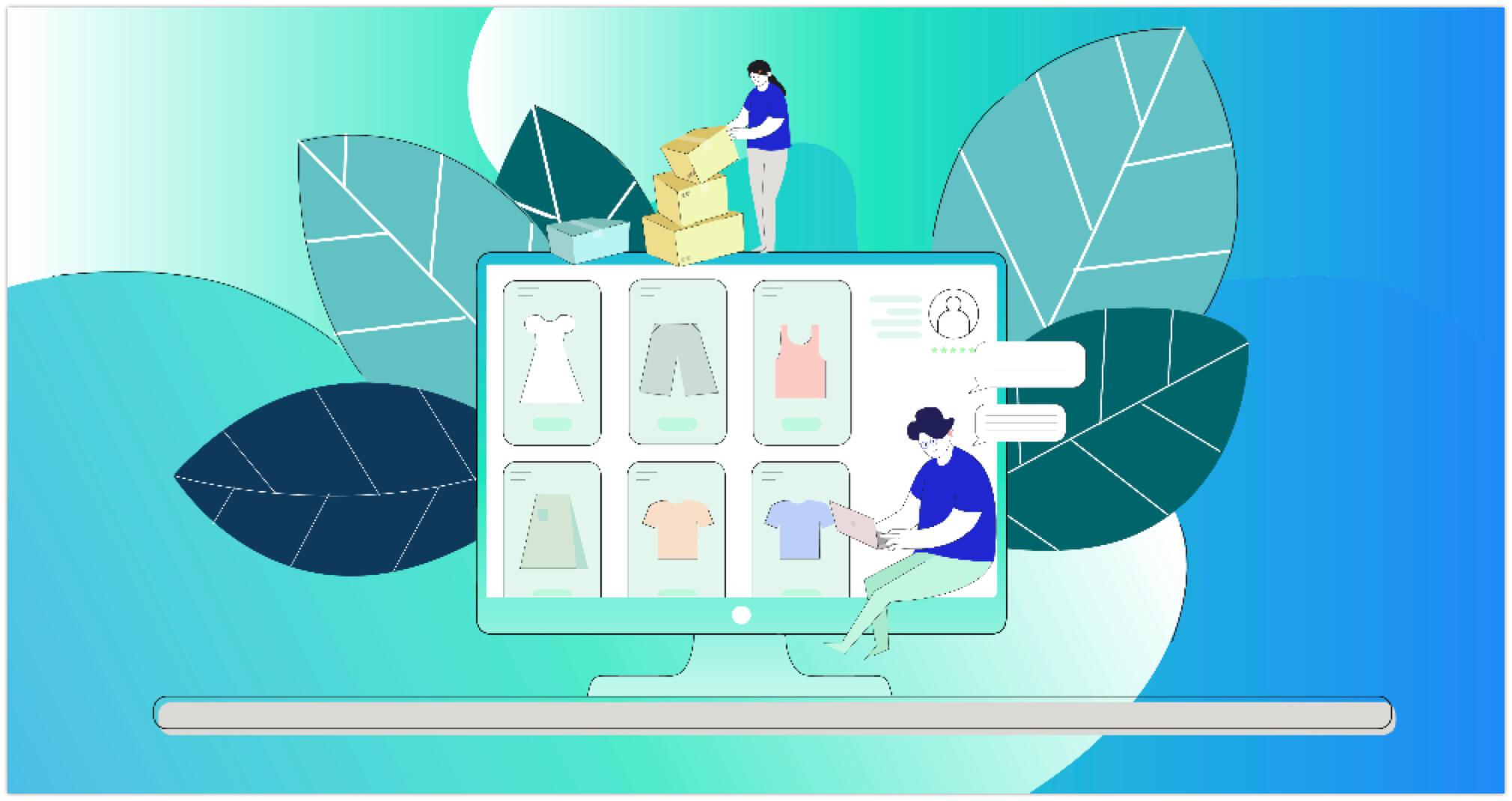 thiết kế Website bán hàng đẹp mắt