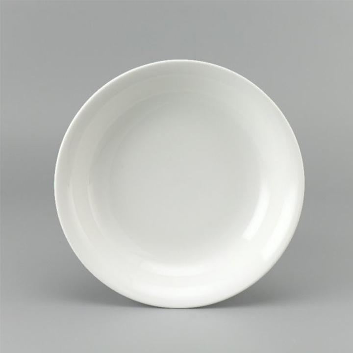đĩa sứ hình tròn sang trọng