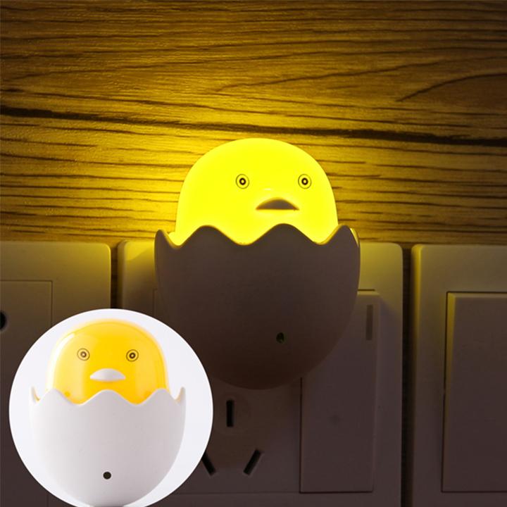 đèn ngủ cảm ứng hình con gà