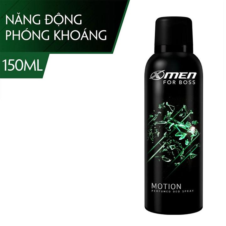 Xịt Toàn Thân X-Men For Boss 150ml