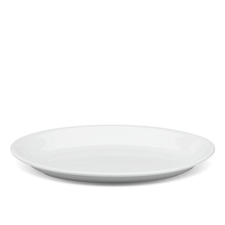 dĩa sứ hình tròn màu trắng